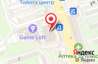 Схема проезда до компании Престиж-Окна в Брянске