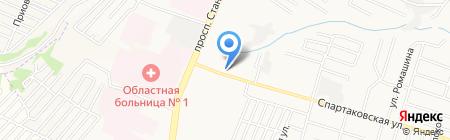 Брянская межобластная ветеринарная лаборатория на карте Брянска