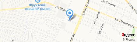 Эфес на карте Брянска