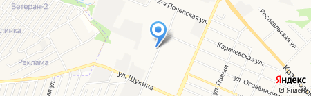 Брянский авторемонтный завод №2 на карте Брянска