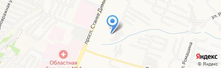 Посейдон на карте Брянска