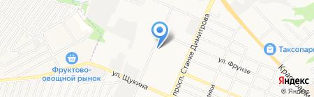 Департамент промышленности на карте Брянска
