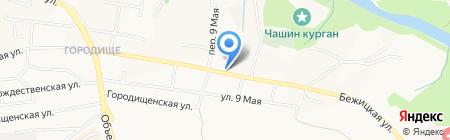 Флора на карте Брянска