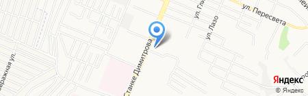 Мастерская шиномонтажа на проспекте Станке Димитрова на карте Брянска
