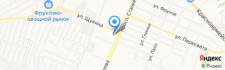 БрянскБизнесПроект на карте Брянска
