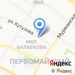 Петрозаводский техникум городского хозяйства на карте Петрозаводска