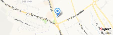 Гильдия Недвижимости на карте Брянска