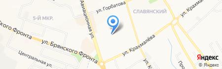 РОСГОССТРАХ на карте Брянска