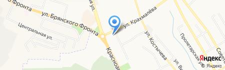 Домовой на карте Брянска
