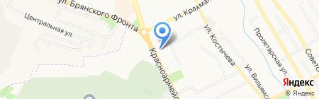 Мастерская по ремонту ключей на Красноармейской на карте Брянска