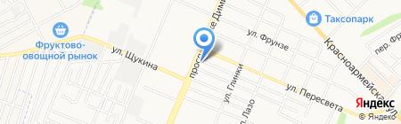 КнязьКовка 32 на карте Брянска