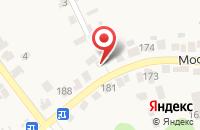 Схема проезда до компании Идиллия в Супонево