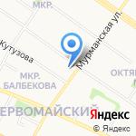 DHL Express на карте Петрозаводска