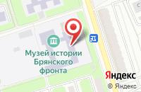 Схема проезда до компании Средняя общеобразовательная школа №60 в Брянске