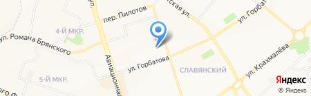 Транспортная компания на карте Брянска