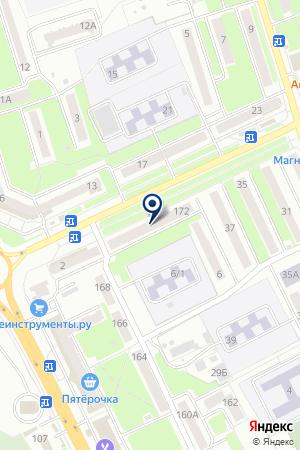 ДОПОЛНИТЕЛЬНЫЙ ОФИС № 0116 БРЯНСКОЕ ОТДЕЛЕНИЕ № 8605 СБЕРБАНК РОССИИ на карте Брянска