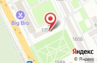 Схема проезда до компании Добрый Джинн в Брянске