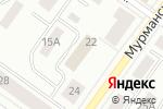 Схема проезда до компании Управление мелиорации земель и сельскохозяйственного водоснабжения по Республике Карелия в Петрозаводске