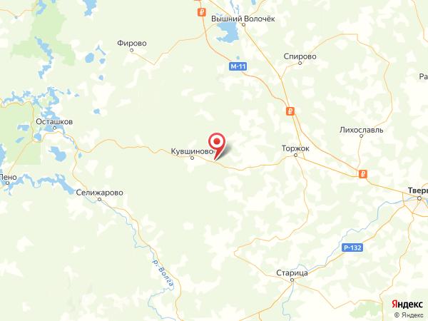 деревня Малое Ильино на карте