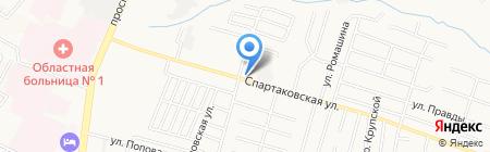 Акрилат на карте Брянска