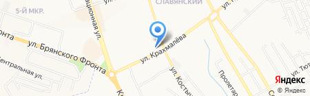 Ты+я на карте Брянска