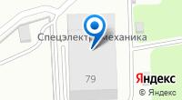 Компания Компания по продаже входных дверей на карте