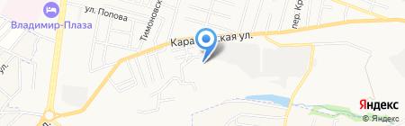 Агропромэлектромонтаж на карте Брянска