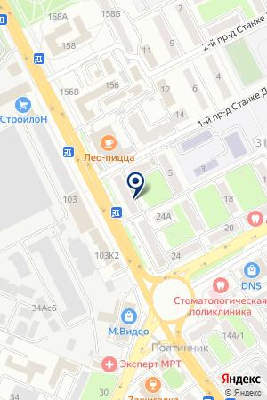 ИЧП АПТЕКА БИШУТИНА Е.М. на карте Брянска