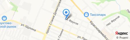 Современные технологии охраны на карте Брянска