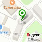 Местоположение компании M.Пост