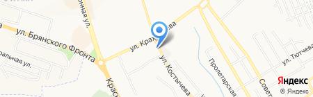 Эксклюзив на карте Брянска