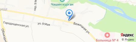 Почтовое отделение №23 на карте Брянска