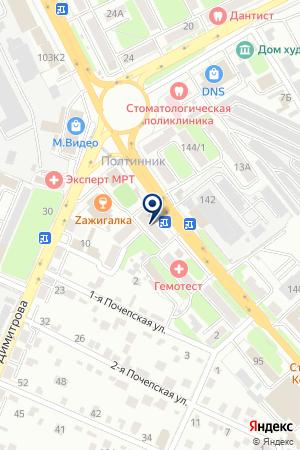 АПТЕКА ЗДОРОВЬЕ на карте Брянска