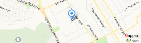 Арт-визаж на карте Брянска