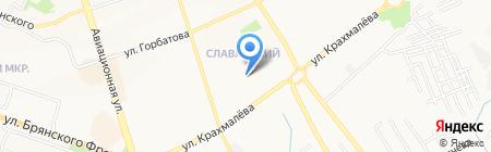 Чародейка на карте Брянска