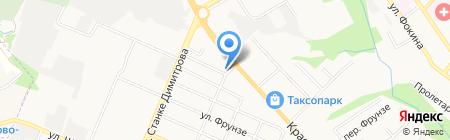 Нотариус Бобраков С.И. на карте Брянска