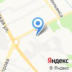 Троллейбусное депо №1 на карте Брянска