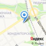 Бастет на карте Петрозаводска