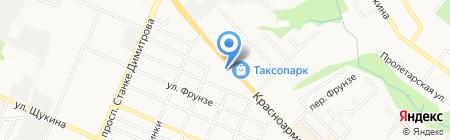 Enter на карте Брянска