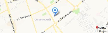 Акватория на карте Брянска