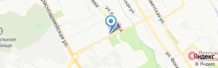 Мастер-инструмент на карте Брянска