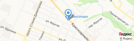 Четерз-Сервис на карте Брянска