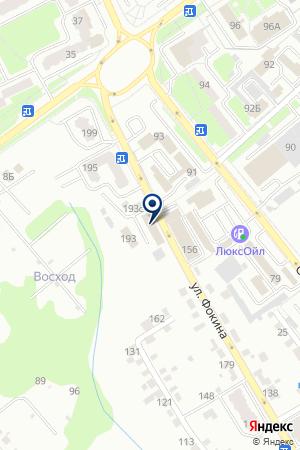 БУХГАЛТЕРСКАЯ ФИРМА ВИКАЛОК на карте Брянска