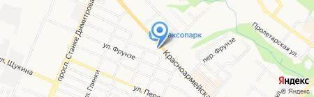 Дилайт-тур на карте Брянска