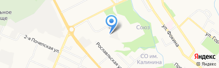 ЕВРОВЕГ на карте Брянска