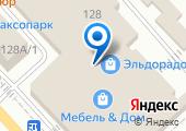 Сеть аптечных пунктов на карте
