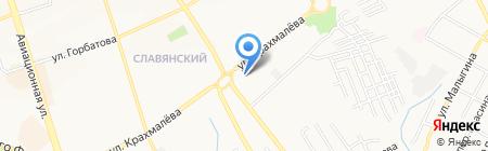 Всероссийский Банк Развития Регионов на карте Брянска