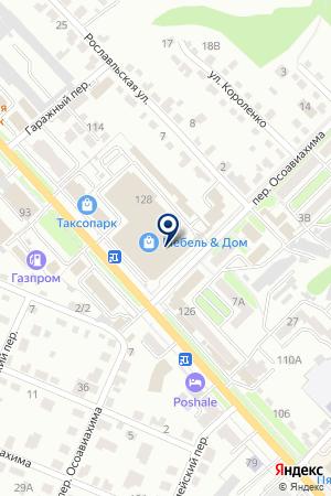 БРЯНСКИЙ ФИЛИАЛ КБ СЕВЕРНЫЙ МОРСКОЙ ПУТЬ на карте Брянска