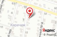 Схема проезда до компании Федерация КУДО России в Семилуках