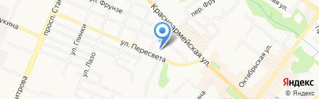 Город Волшебников на карте Брянска